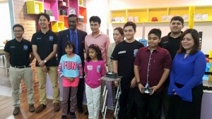 A visit from Deputy Minister II Ministry of Education Malaysia