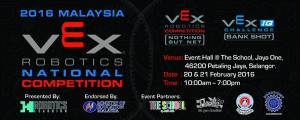 2016 Malaysia VEX Robotics National Competition